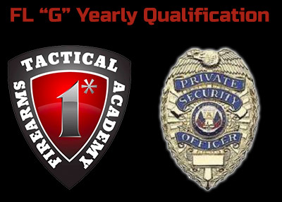"""State of Florida """"G"""" Yearly Qualification"""