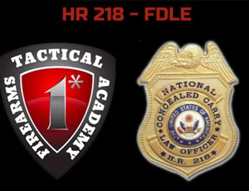 HR 218 – Florida Department of Law Enforcement